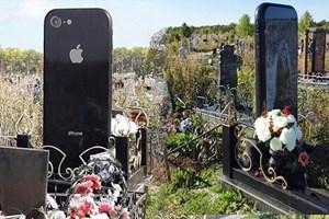 Genç kıza telefon şeklinde mezar yaptılar!