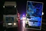 Samsun'da yolcu otobüsü tıra çarptı!