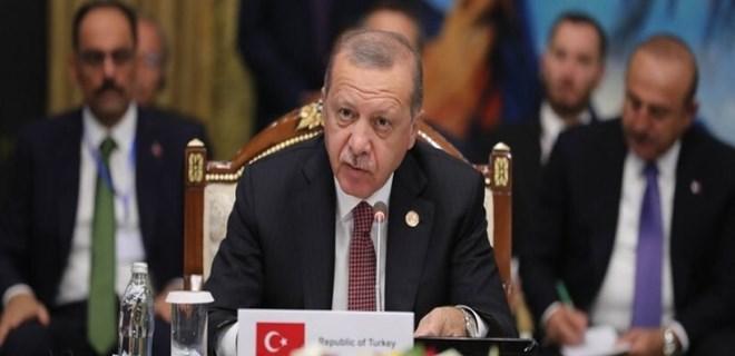 Cumhurbaşkanı Erdoğan'dan Kırgızistan'da önemli mesajlar