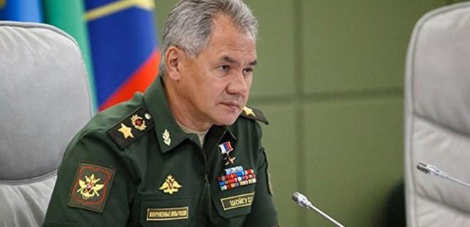 Rusya Savunma Bakanı'ndan 'Suriye' çıkışı!