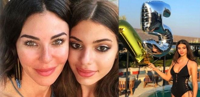 Defne Samyeli, kızı Derin'in 15. yaşını kutladı