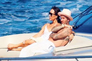 Beckhamlar tatilde