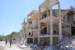 Hava ve kara saldırılarının ardından İdlib'de büyük yıkım