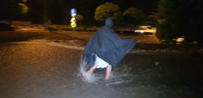 Karabük ve Safranbolu'da yoğun yağış