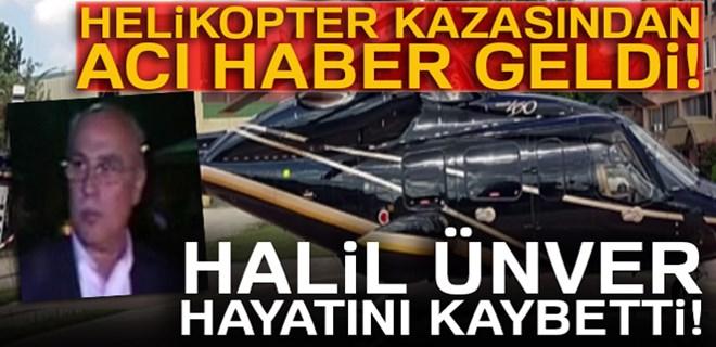 Helikopter kazasından acı haber!