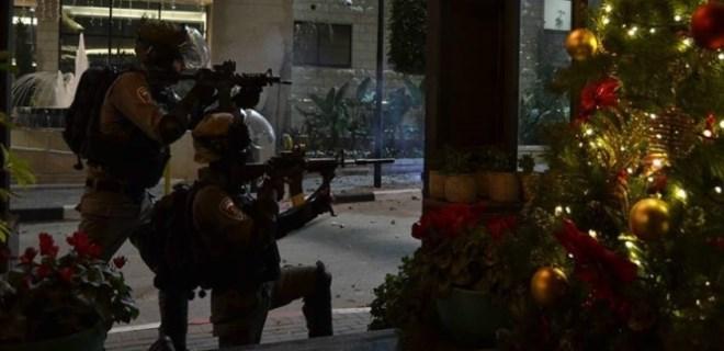 İsrail askerlerinden Ramallah kent merkezine baskın