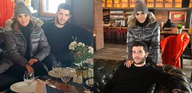 Feryal Gülman'dan oğluna büyük destek