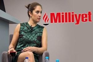 Nevşin Mengü'den 'Milliyet' tweeti