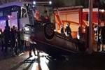 Zenit Kazan Erkek Voleybol takımını taşıyan otobüs kaza yaptı
