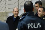 İçişleri Bakanı Soylu'dan Polis Merkezi Amirliğine ziyaret