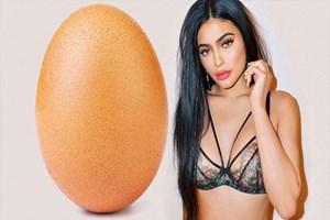 Ellen'dan 'Kylie suratlı yumurta' hareketi