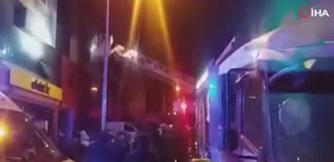 Ankara'da feci yangın: 5 ölü, 8 yaralı