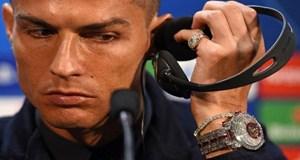 Ronaldo'nun 'servet saat'i!
