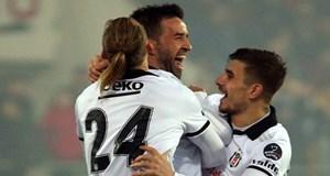 Beşiktaş'ta sevinçli galibiyet!