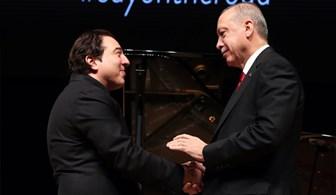Cumhurbaşkanı Erdoğan, Fazıl Say konserine katıldı
