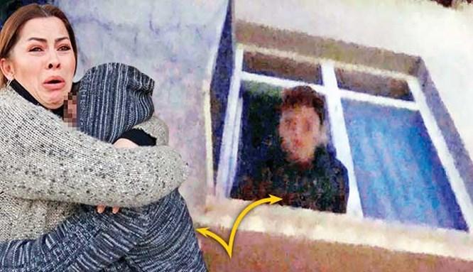 'İcralık çocuk' camdan atlamak istedi!