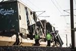 Danimarka'da dehşet veren tren kazası!