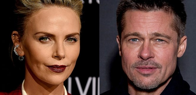 Charlize Theron ve Brad Pitt aşk mı yaşıyor?