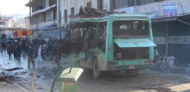 Zeytin Dalı Harekatı'nın yıldönümünde Afrin'de patlama