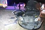 Nişanlı çifti trafik kazası ayırdı!