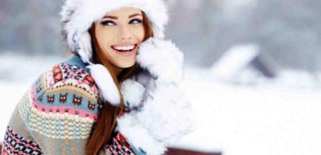 Cildinizi soğuktan koruyun!