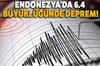 Endonezya'nın Sumbawa Adası'nda 6.4 büyüklüğünde deprem meydana geldiği öğrenildi.