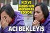 Antalya'da canlı vericiden karaciğer nakli bekleyen kadın, 4 yıllık beklentisi sonuç bulmayınca...
