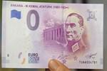 Avrupa Merkez Bankası Atatürk portreli 'Euro' bastı