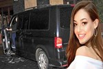 Dilan Çiçek Deniz VIP minibüs aldı