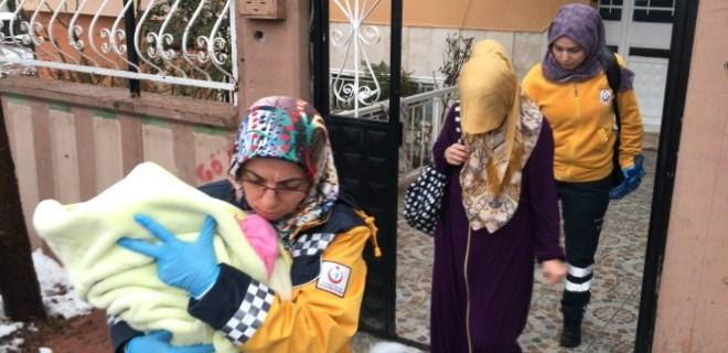Eşini ve bebeğini darp ettiği iddia edilen şahıs serbest kaldı