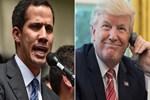 Trump, Guiado'yu aradı!