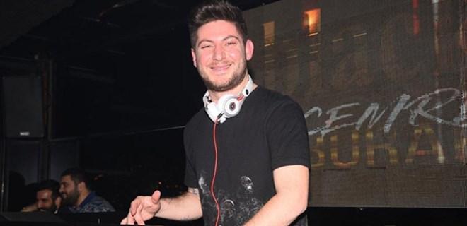 Nil Burak'ın oğlu DJ kabininde