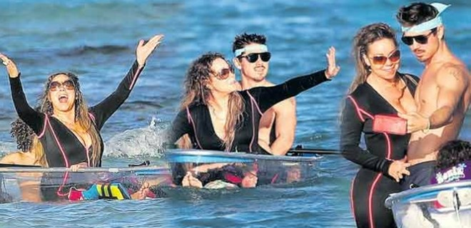 Mariah Carey'in kano keyfi