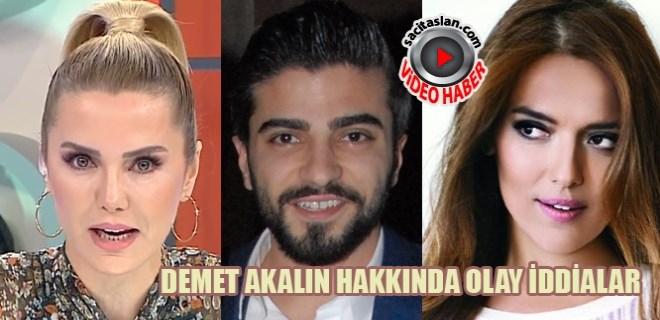 Ece Erken Serkan Uçar ve Demet Akalın'ı bombaladı!
