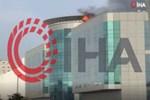 Cidde'de alışveriş merkezinde dehşet veren yangın