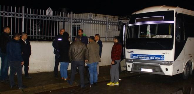 Aydın'da otobüs şoförü yolcusu tarafından bıçaklandı