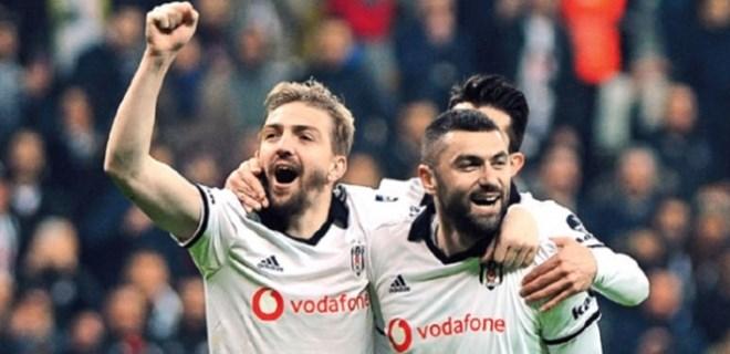Beşiktaş'ta galibiyet sevinci!