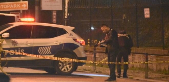 Beşiktaş'ta gece kulübü önünde silahlı kavga
