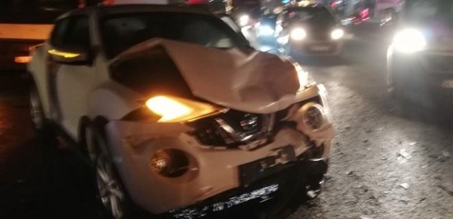 Hadımköy yolunda zincirleme kaza!..