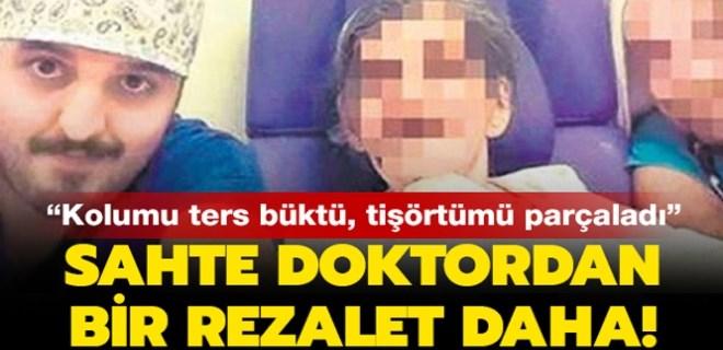 Sahte doktor, kadına şiddetten tutuklandı!