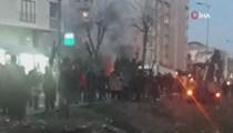 Çekmeköy'de askeri helikopter düştü