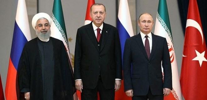 Suriye için Soçi'de üçlü zirve