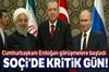 Cumhurbaşkanı Erdoğan - Ruhani görüşmesi başladı