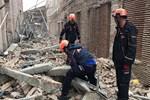 Adana'da müze inşaatında duvar çöktü!