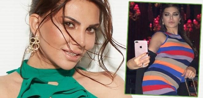Ebru Yaşar'a eşinden romantik sürpriz!