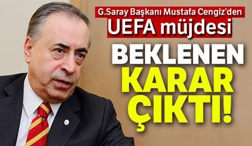 Galatasaray Avrupa'dan men cezası almayacak