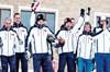 Şarkıcılığın yanı sıra artık Senkronize Kayak Milli Takımı'nda da yer alan Mustafa Sandal, kayak...