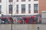 Göztepe'de üniversitede yangın paniği