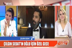 Çılgın Sedat'tan oğlunun yardım gecesine gelmeyenlere sitem!