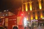 İstanbul'da 7 katlı otelde yangın paniği!